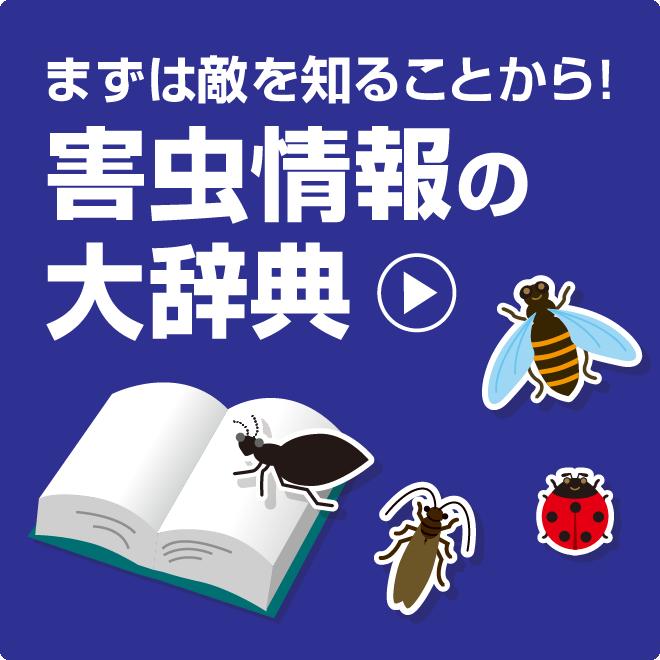 まずは敵を知ることから!害虫情報の大辞典